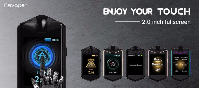 Chance To Win an Asvape Touch Pod System!