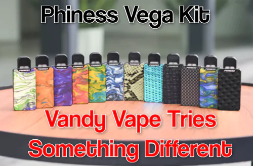 Vandvape introduces the Phiness Vega