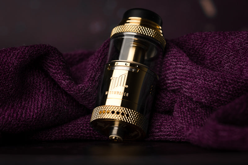 Vandy Vape x El Mono Vapeador Widowmaker RTA: That's a Tall Tank!