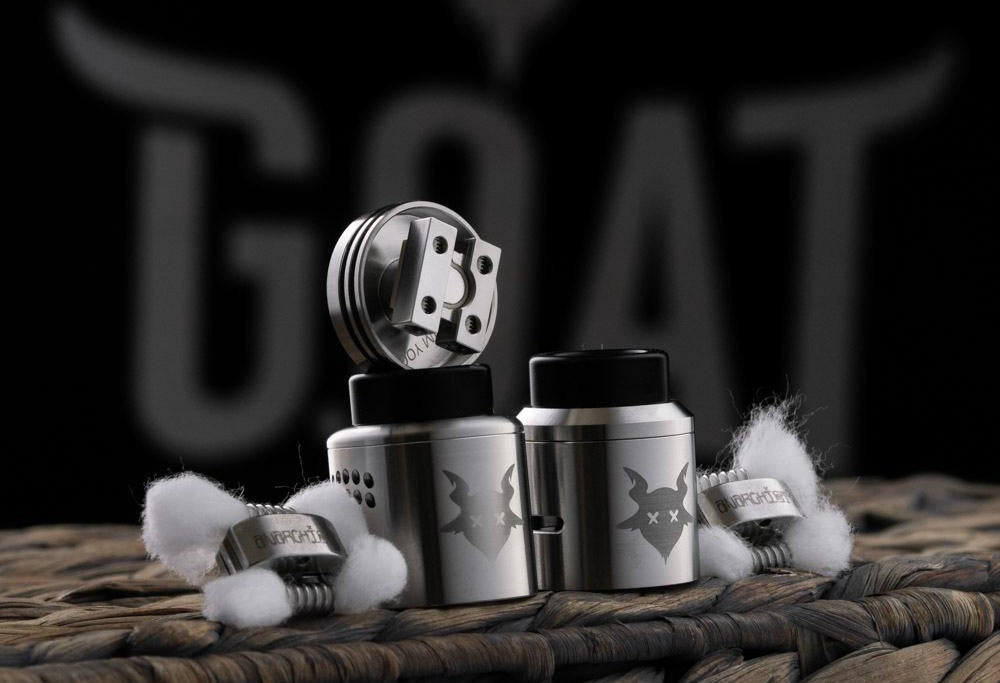 Dead Goat Combo RDA Kit by OhmboyOC and Grimm Green