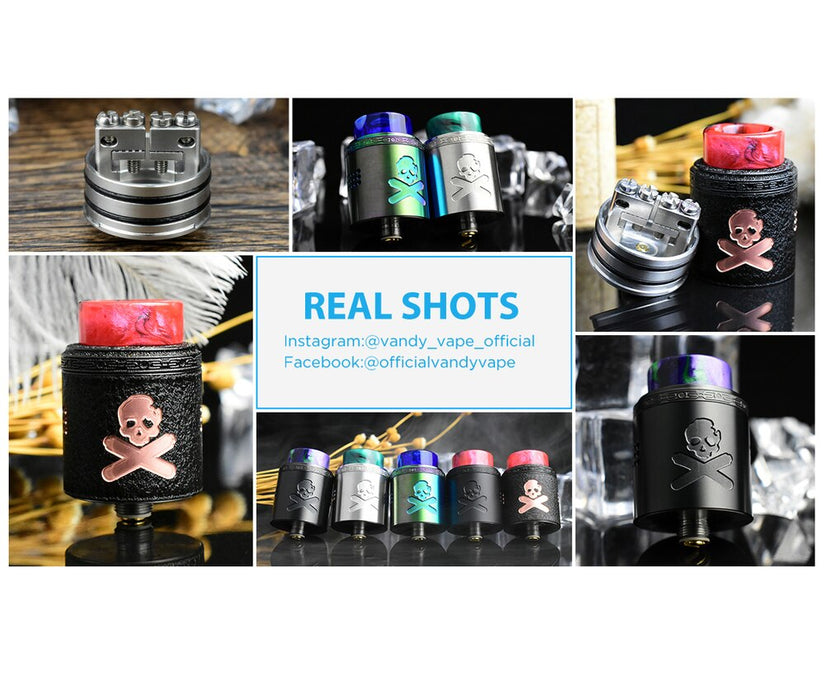 Vandy Vape Bonza V1.5 RDA Designed by Vaping Bogan
