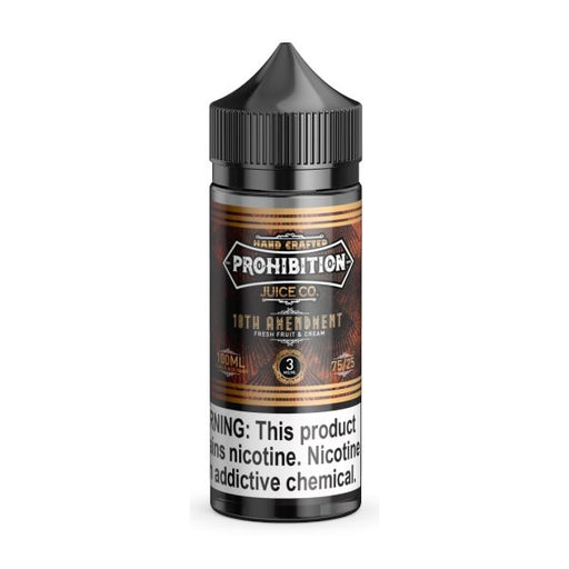 18th Amendment - Prohibition Juice Co. - 100ml E-Liquid Prohibition Juice Co.