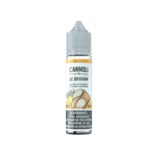 Cannoli Be Graham - Cassadaga E-Liquids - 60mL - My Vpro
