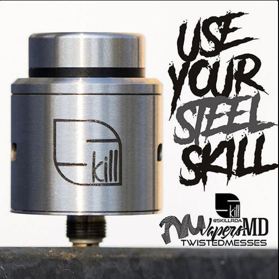 Twisted Messes x VapersMD Skill 24mm RDA
