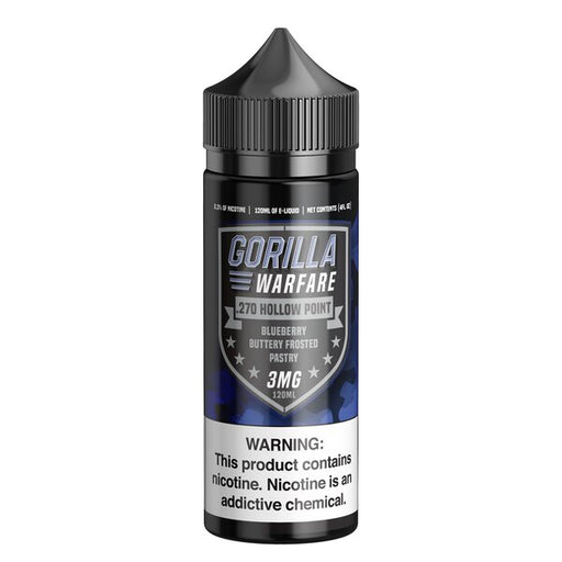 .270 Hollow Point - Gorilla Warfare E-Liquids - 120ml - My Vpro
