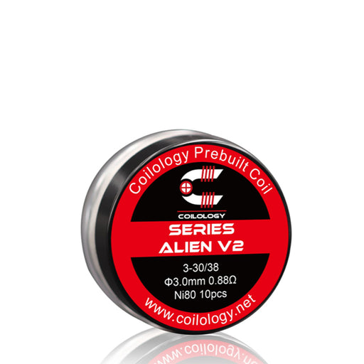Coilology New Series Alien V2 Prebuilt Coils 10pcs/ box