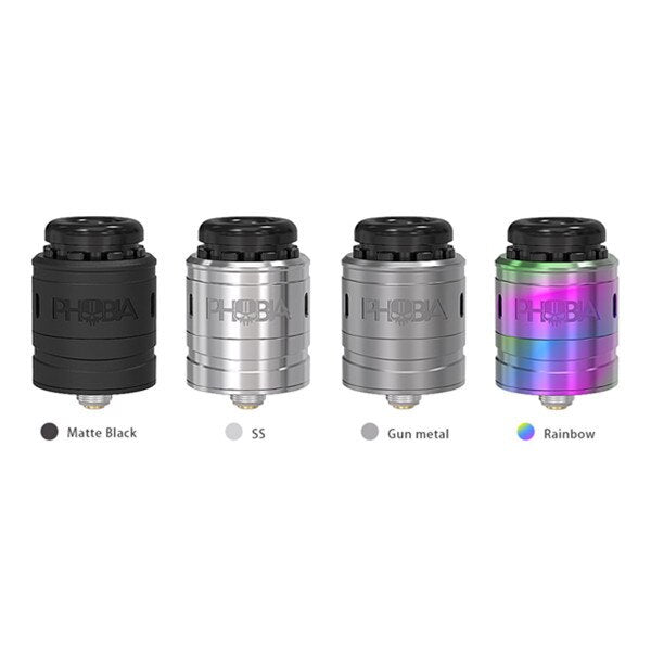 Vandy Vape Phobia V2 RDA designed by Alex VapersMd - My Vpro