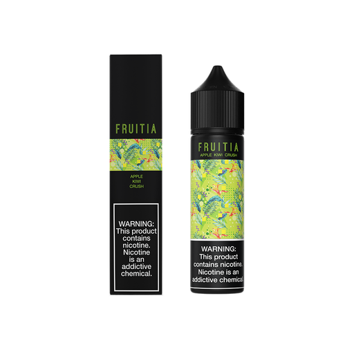 Apple Kiwi Crush - Fruitia E-Liquids - 60mL