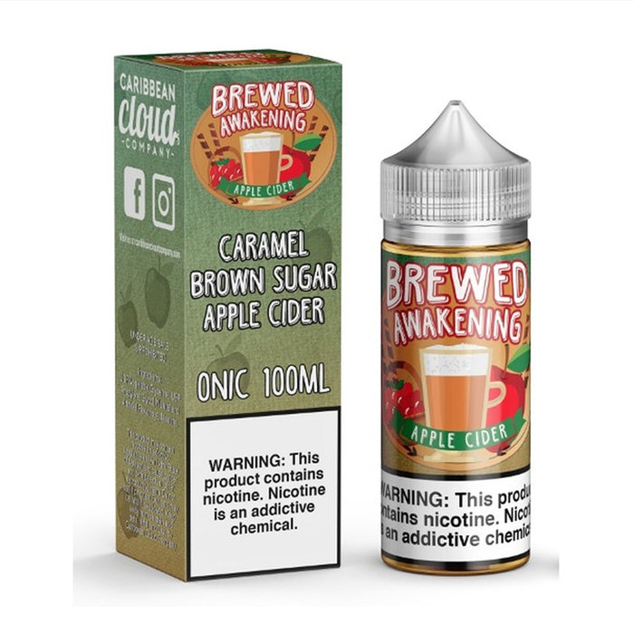 Apple Cider - Brewed Awakening by Caribbean Cloud Company - 100ml - My Vpro