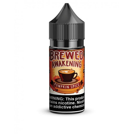 Pumpkin Spice SALT - Brewed Awakening - 30mL - My Vpro