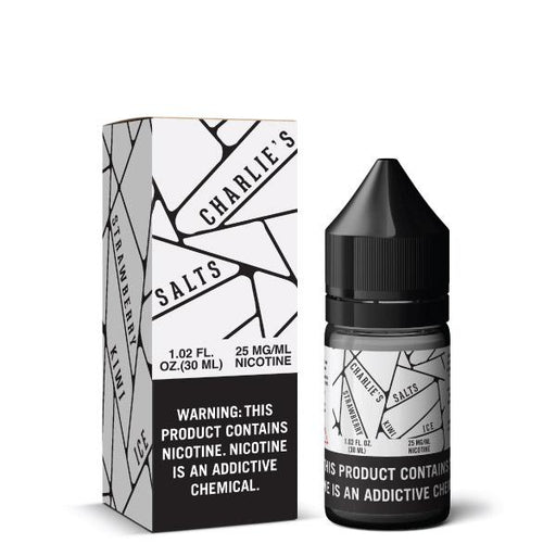 White - Charlies Chalk Dust SALT - 30mL