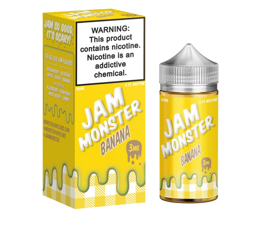 Banana - Jam Monster - 100mL - My Vpro