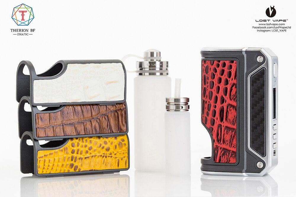 Therion BF DNA75C Squonker TC Box Mod 75W by Lost Vape — My Vpro