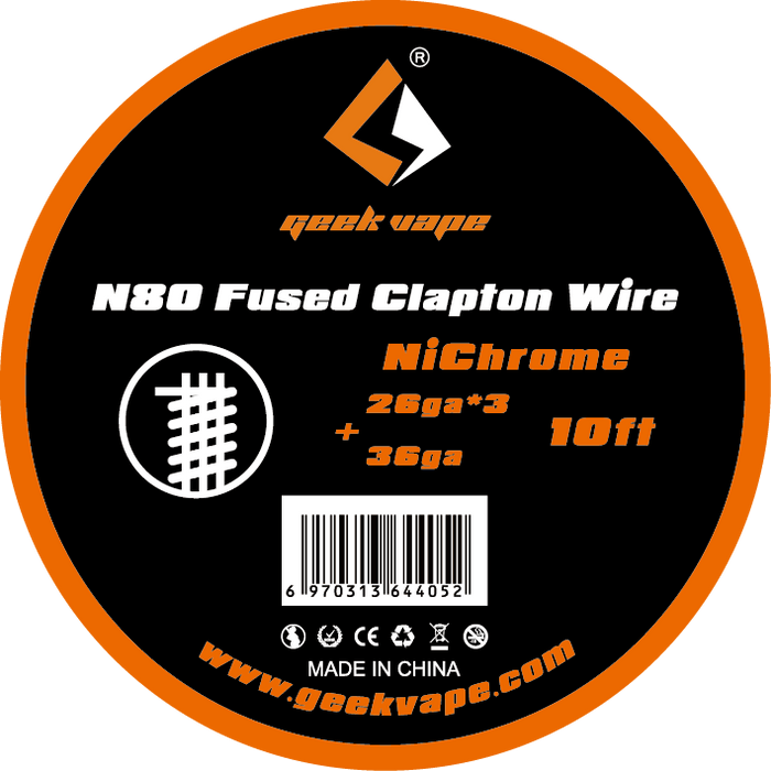 GeekVape N80 Clapton Wire Spool -10 Ft - My Vpro