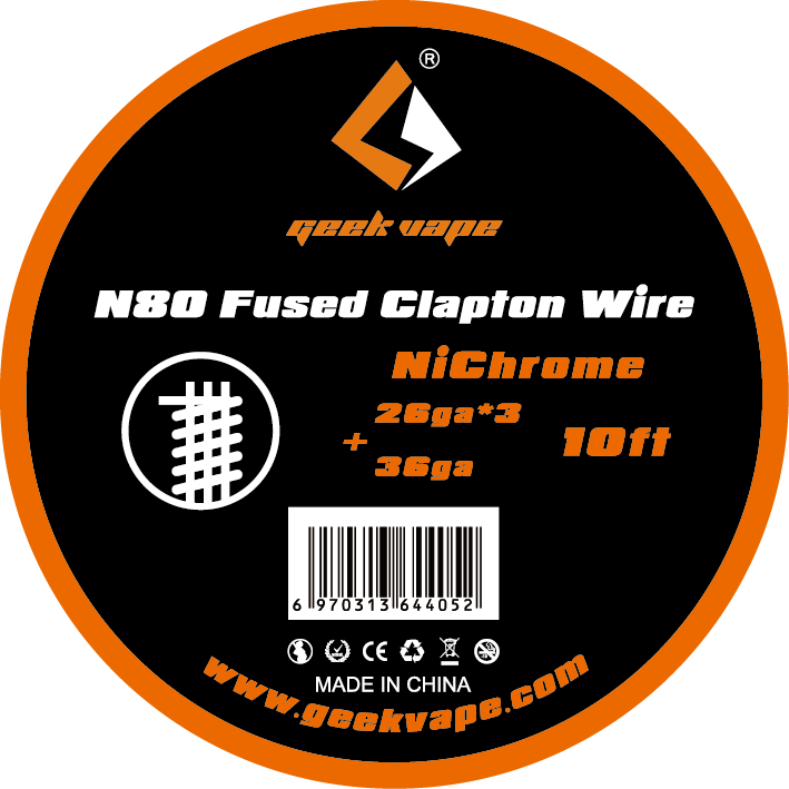 GeekVape N80 Clapton Wire  Spool -10 Ft