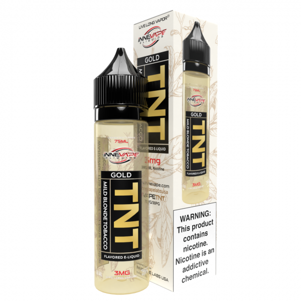 Gold - Mild Blonde Tobacco - TNT by Innevape Labs - 75mL