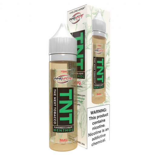 The Next Tobacco Menthol - TNT by Innevape Labs - 75mL
