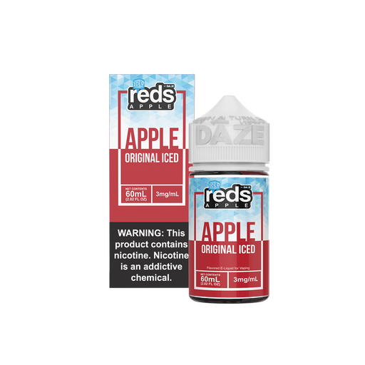 Reds - Apple ICED - 7Daze - 60ml