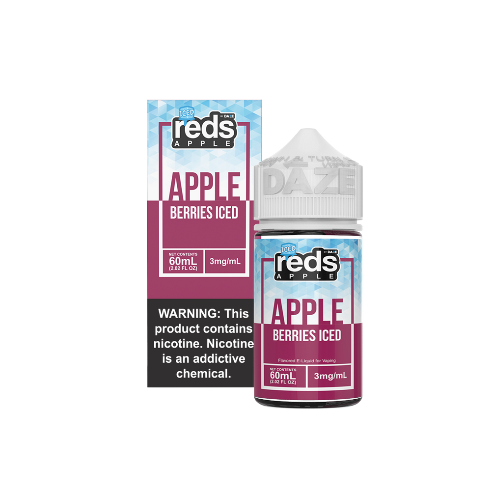 Reds - Berries Iced - 7Daze - 60ml - My Vpro