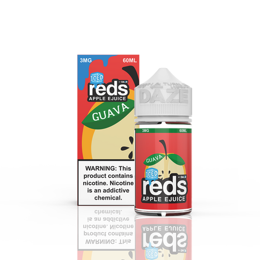 Guava ICED - Reds Apple by 7Daze - 60mL