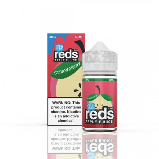 Strawberry ICED - Reds Apple E-Juice - 60mL