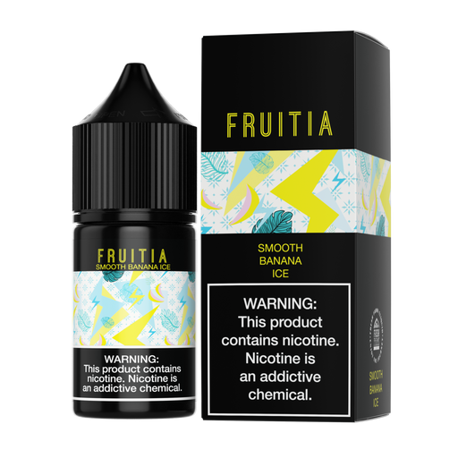 Smooth Banana Ice SALT - Fruitia E-Liquids - 30mL - My Vpro