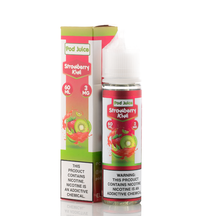 Strawberry Kiwi - Pod Juice E-Liquids - 60mL - My Vpro