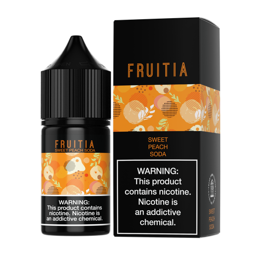 Sweet Peach SALT - Fruitia E-Liquids - 30mL - My Vpro