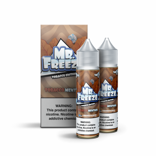 Tobacco Menthol - Mr. Freeze E-Liquids - 120mL (2x60mL)