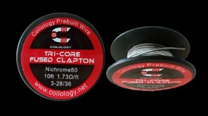 Tri-Core Fused Clapton Wire Spool by Coilology
