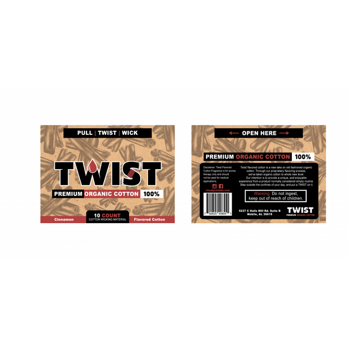 Twist Flavored Organic Cotton - My Vpro
