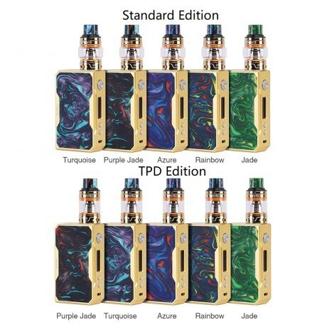 VOOPOO DRAG 157W TC Kit with UFORCE Tank