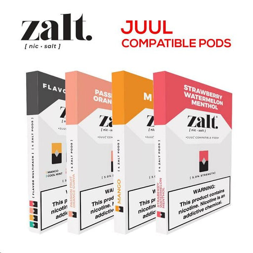Zalt Pods (Compatible Pre-Filled Pods) (4pcs)