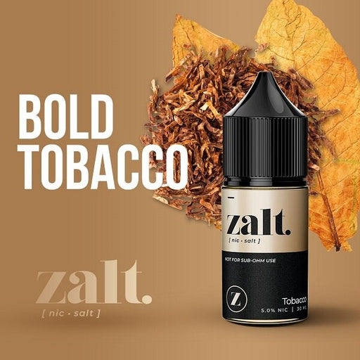 Tobacco - Zalt Salt Nic - 30ml