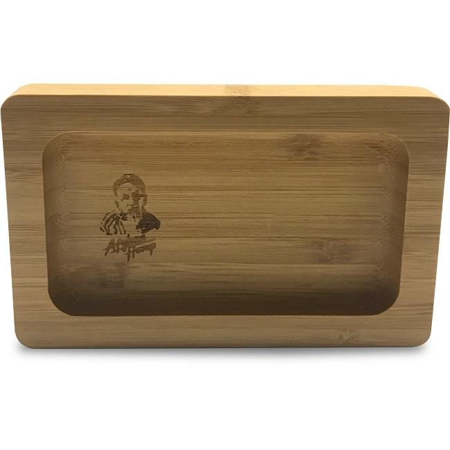 Afghan Hemp Bamboo Herbal Rolling Tray (Mini) Hardware Afghan Hemp