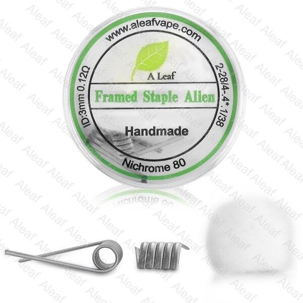 Aleaf Framed Staple Alien Coil Hardware My Vpro
