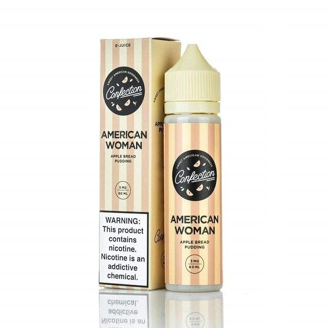 American Woman - Confection E-Juice - 60ml - My Vpro