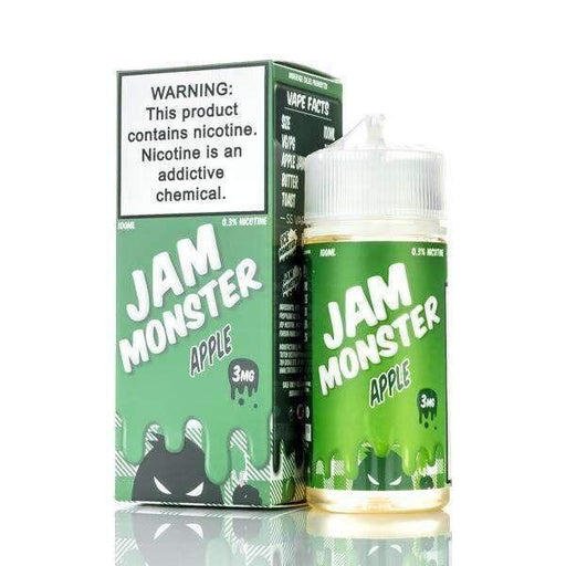 Apple - Jam Monster - 100ml E-Liquid Jam Monster