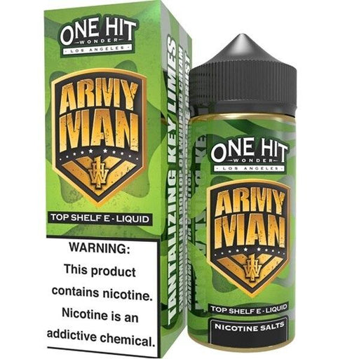 Army Man - One Hit Wonder - 100ml E-Liquid One Hit Wonder
