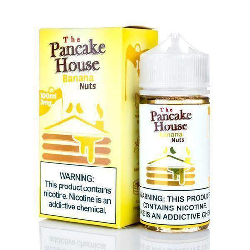 Banana Nuts - The Pancake House - 100ml E-Liquid Gost Vapor