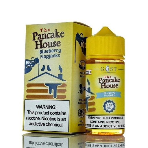 Blueberry Flapjacks - The Pancake House - 100ml E-Liquid Gost Vapor