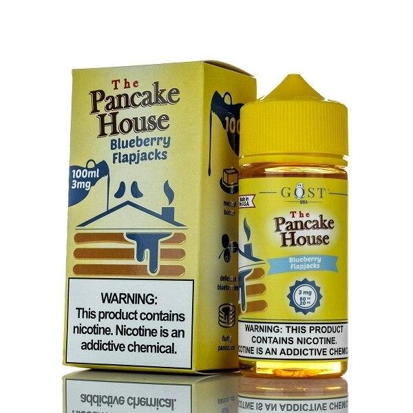 Blueberry Flapjacks - The Pancake House - 100ml - My Vpro