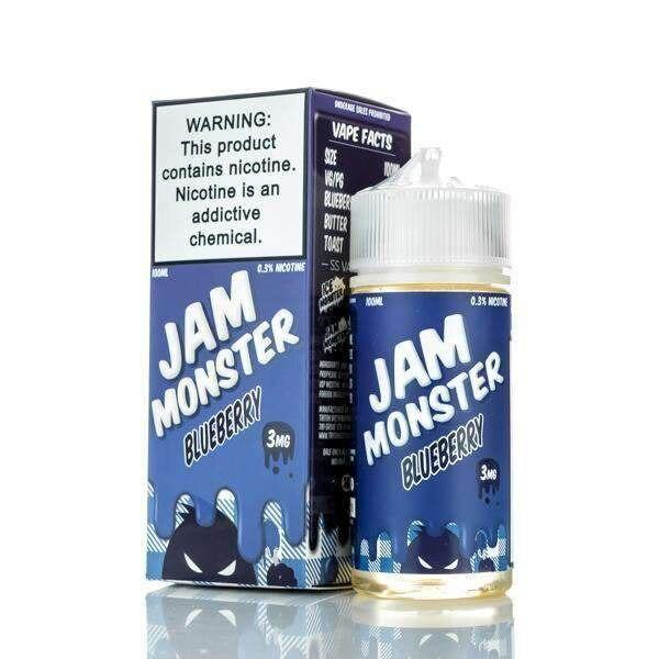 Blueberry - Jam Monster - 100ml - My Vpro