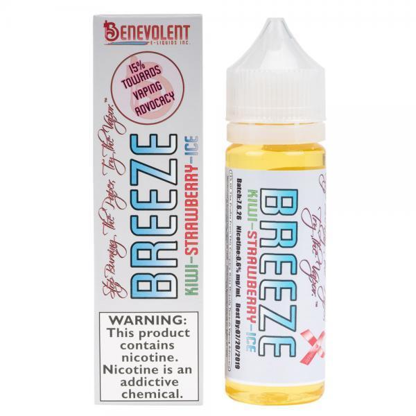 Breeze - Benevolent E-liquid - 50ml - My Vpro