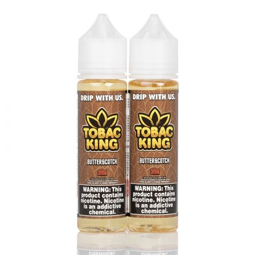 Butterscotch - Tobac King E-Liquid - 120mL
