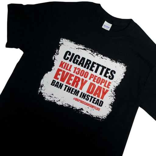 Cigarettes Kill T-Shirt - Vapers United Hardware Vapors United