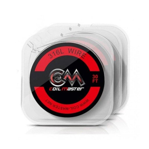 Coil Master - 316L Wire Spool - 30ft Hardware Coil Master