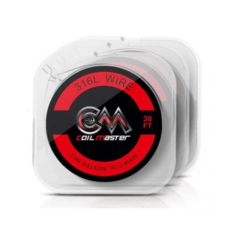 Coil Master - 316L Wire Spool -30ft - My Vpro