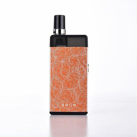 CoilART BRON Pod System 950mAh Hardware CoilArt Orange Kit (+$6.00)
