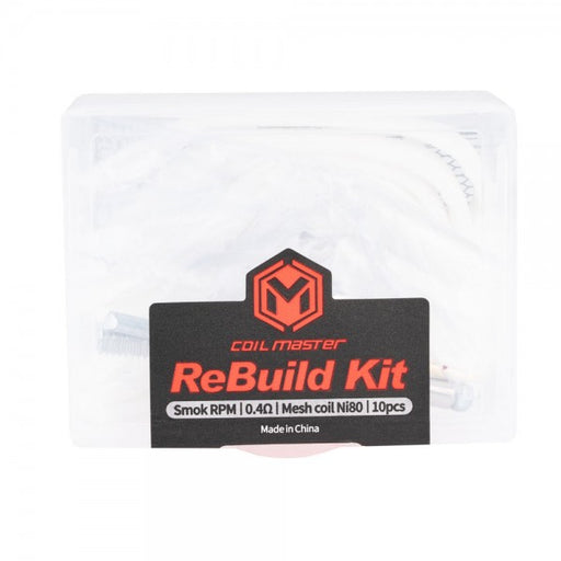 Coil Master Rebuild Kits for Pod Systems